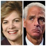 Charlie Crist FINALLY Debates Nan Rich!!
