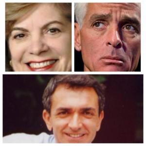 Nan Rich, Charlie Crist, Dean Trantalis
